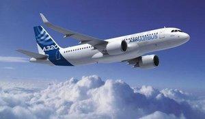 A320 Neo en vol