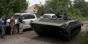 Accord preliminaire en ukraine sur un retrait d'armements