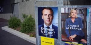 Affiche Macron