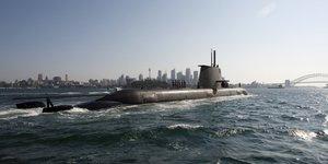 Australie sous-marins Collins Thales