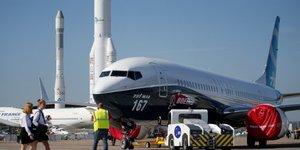 Bourget, Boeing 737 MAX, Paris Air Show 2017, aéronautique, spatial, aviation, espace, défense, transport, industrie, exportation, France, Airbus, Ariane, lanceur,