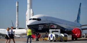 Bourget, Boeing 737 MAX, Paris Air Show 2017, aEronautique, spatial, aviation, espace, dEfense, transport, industrie, exportation, France, Airbus, Ariane, lanceur,