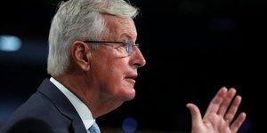 Brexit: barnier decu de l'absence d'avancees, londres croit encore un accord possible