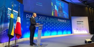 Bruno Le Maire Climate Finance Day