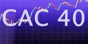 CAC 40 écran indice