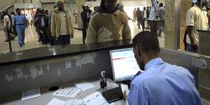 contrôle passeport Soudan