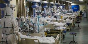 Coronavirus: le bilan en chine porte a 811 morts, depasse celui du sras