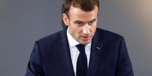 """Declaration solennelle de macron pour apaiser les """"gilets jaunes"""""""