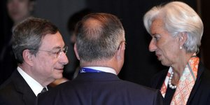 Draghi Lagarde BCE
