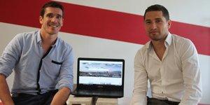 Florian Colas et Éric Girardin, les fondateurs de Doyoogo