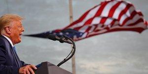 Floride, campagne électorale, Trump, Cecil Airport,