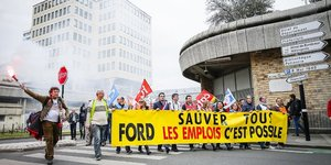 Ford Aquitaine manif