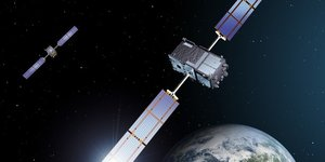 Galileo IOV, satellites, constellation, Cnes, Centre national d'études spatiales,