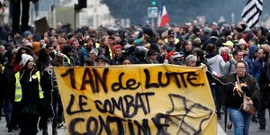 Gilets jaunes: 28.000 manifestants en france