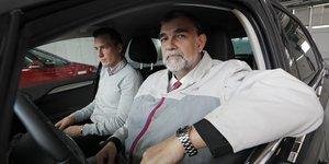 """Gilles Le Borgne, ici encore en poste chez PSA, a été recruté par Renault comme """"directeur de l'ingénierie et membre du comité exécutif""""."""