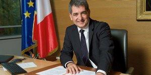 Jean Rottner, président (LR) du Conseil régional de Grand-Est