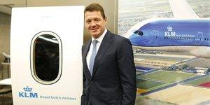 KLM, Elbers, Pieter, Air France KLM, compagnies aériennes, transport aérien,