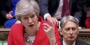 La chambre des communes a rejete l'accord sur le brexit