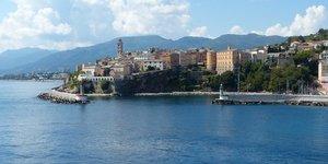 La citadelle gEnoise de Bastia