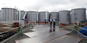 Le japon va rejeter les eaux contaminees de fukushima dans l& 39 ocean