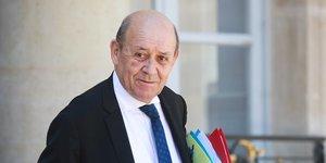 Le liban n& 39 aura pas d& 39 aide financiere sans reformes, rappelle le drian