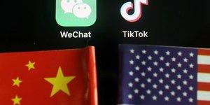 Le telechargement de tiktok et wechat bloque aux usa des dimanche