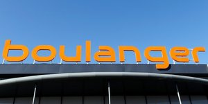 Logo enseigne Boulanger, spEcialiste en ElectromEnager et multimEdia du groupe Mulliez