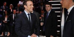 Macron juge le plus convaincant du premier debat tv