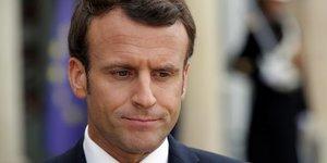 Macron recule a nouveau dans un sondage ifop-fiducial