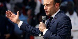 Macron s'engage a mener a son terme la reforme des retraites