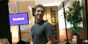 Mark Zuckerberg, patron et fondateur de Facebook