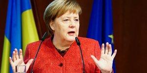 Merkel, conférence Allemagne-Ukraine, Berlin
