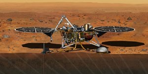 Mission martienne  NASA InSight CNES Sodern