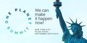 One Planet Summit NY 2018