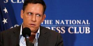 Peter Thiel, Palantir