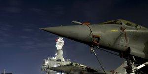 Rafale, porte-avions Charles de Gaulle, armée, défense, nucléaire, dissuasion,