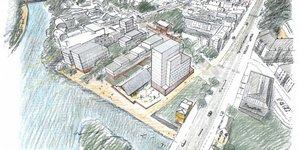 Rennes, îlot de l'Octroi, métropole, Bretagne, Pascale Paoli-Lebailly, concours, architecture,