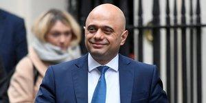 Sajid Javid, ministre britannique des Finances, Brexit