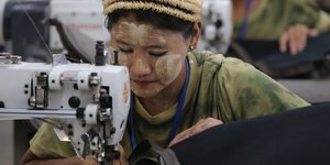 Textile, Myanmar,