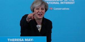Theresa May élections royaume-Uni