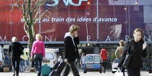 Trafic interrompu a paris-montparnasse