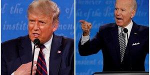 Trump refuse un debat a distance avec biden