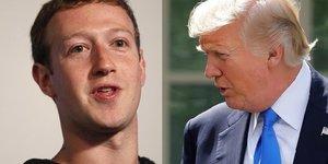 trump zuckerberg