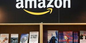Un rayon de livres Amazon (2017)