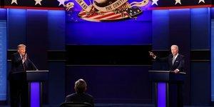 Usa 2020: trump et biden a l& 39 offensive lors d& 39 un premier debat chaotique