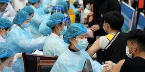 Vaccination en Chine