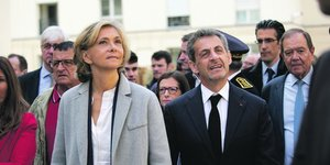 Valérie Pécresse et Nicolas Sarkozy